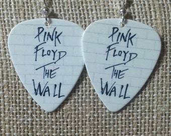 Pink Floyd The Wall Guitar Pick Earrings