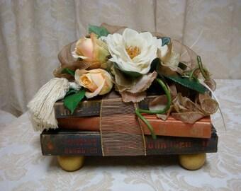 Decorative Book Stack