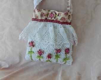 Yo Yo Flower Garden Handbag