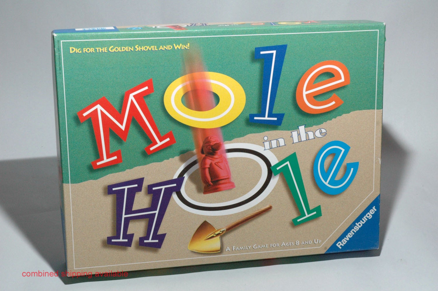 Mole in the Hole Board Game Ravensburger 1997 Nearly ...