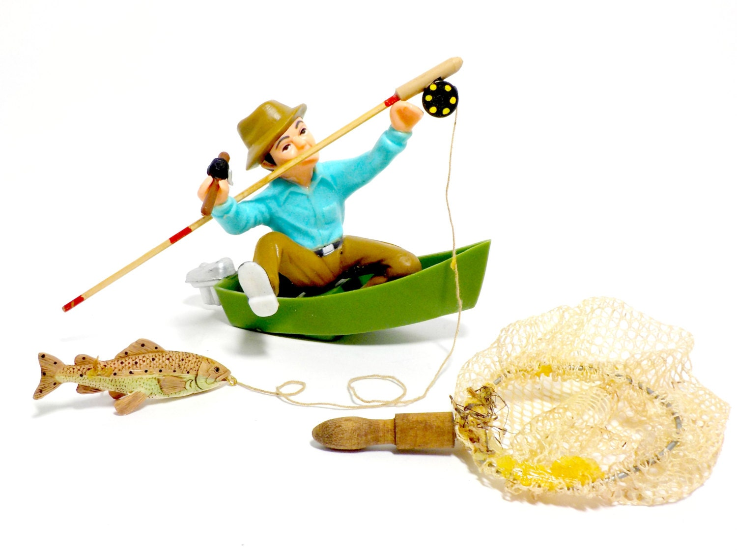 wilton fisherman cake topper fishing cake topper fishing