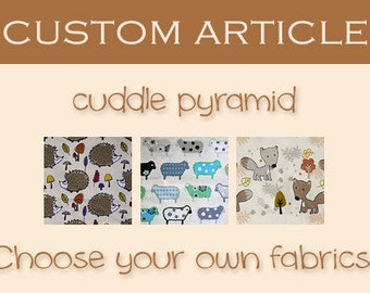CUSTOM ARTICLE: cosy cuddle pyramid for guinea pigs