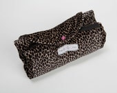 Small Velvet Cheetah Urban Shopping Tote