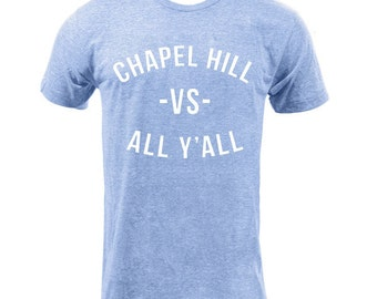 Chapel Hill VS All Y'all - Athletic Blue