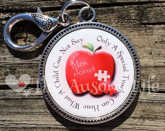 Autism Awareness Keychain for Teachers/Teacher Appreciation