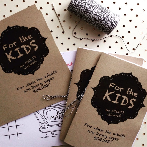 kids activity coloring book wedding diy printable