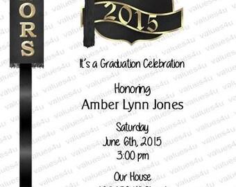 Personalized Graduation Party Invitation947
