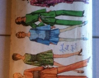 "Simplicity Dress, Tunic & Pants Pattern 9002 Size: 12, Bust 34"" Waist 26"", Hip 36"""