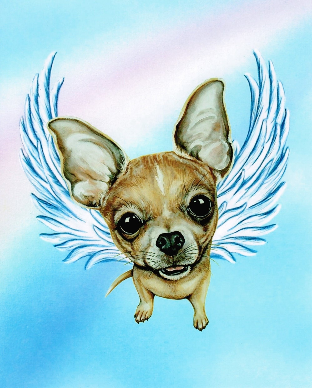 Chihuahua Angel Chihuahua Chihuahua Memorial By Artbyweeze