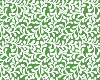 Kelly Curly Branches ---- Fabric By The Yard --- Plume Bloom