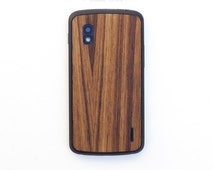 TIMBER Nexus 4 Natural Wood Skin Back - Free Shipping United States Orders