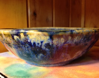 Ceramic Fruit Bowl Mixing Small Pasta Bowl Pottery Handmade