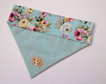Beagle embroidered dog bandana