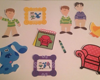 Blue's Clues Die Cuts Set of 10