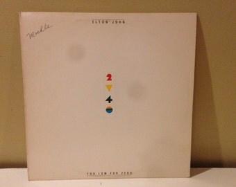 """Elton John """"Two Low For Zero"""" vinyl record"""