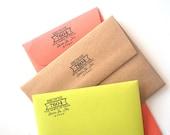 Self-Inking Return Address Stamp Custom
