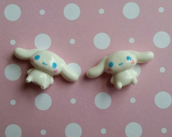 Kawaii Cinnamoroll Flatback Cabochons / 2-Pieces
