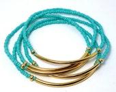 Custom Bar Bracelet - Modern Minimalist Friendship Bracelet