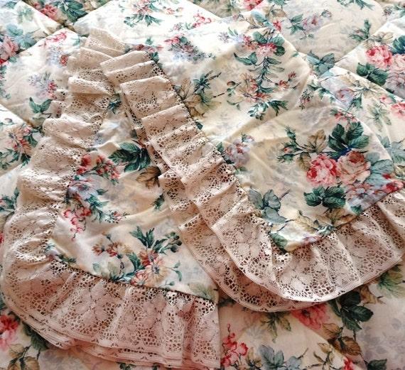 80er jahre tagesbett daunendecke und kissen shams in rosa und. Black Bedroom Furniture Sets. Home Design Ideas