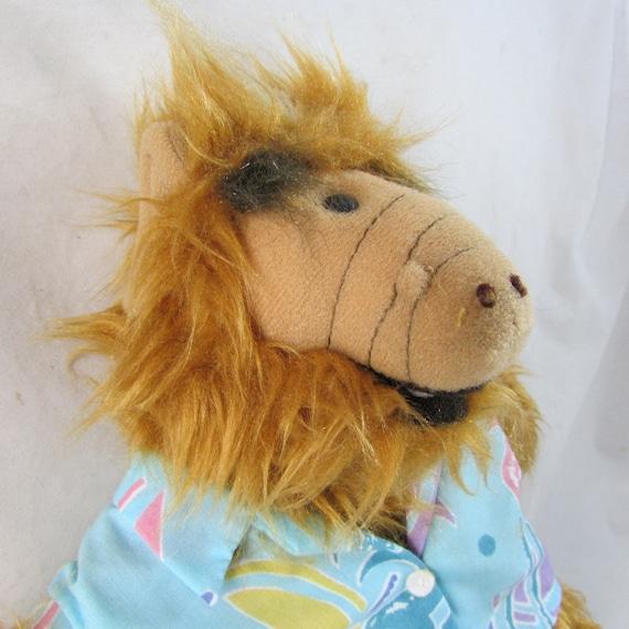 Surfer Alf TV Character Puppet 1980s Burger King