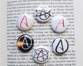 Atheist Badges Buttons and Pins