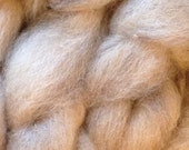 Alpaca Yak Silk Superfine Roving - natural colors