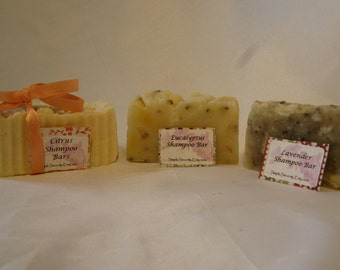Shampoo Bar - All Natural Shampoo - Hair - Simple Sincerity Shampoo Bars