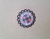 WSPU Suffragette Brooch / Pin - Unique Beautiful handmade