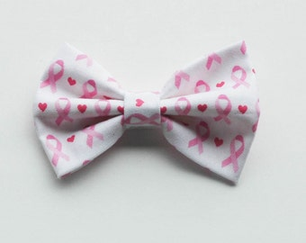 Pink Ribbon - Breast Cancer Awareness - Breast Cancer Bow - Save the Tatas