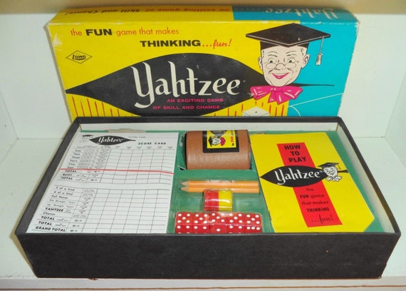Original Yahtzee Game Value