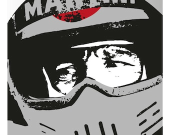 Mario Andretti poster