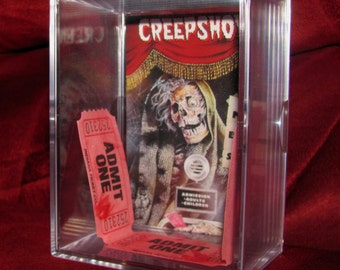 Creepshow is now Showing! I Have 3 Tickets Left..Case Is Brand New.(Don't Ask What Happened the Holders!!)