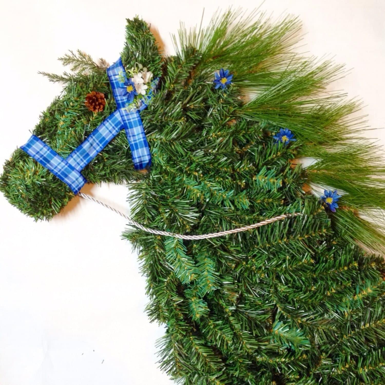 Head Wreath Name Horse Head Wreath Artificial