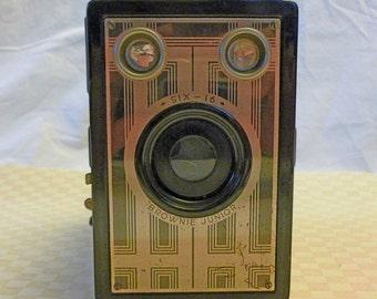 Antique Kodak Brownie Junior 6 -16 Box Camera