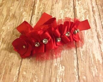 Red Decorative Dog Collar