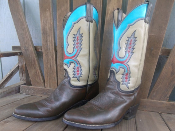 New New Hand Painted Women39s Cowboy Boots  Dingo Brand  Cowgirl Boots