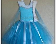 Queen Elsa Tutu Hair Bow Holder, Princess Hair Bow Holder, Dress Hair Bow holder, hair bow organizer, Frozen hair bow holder