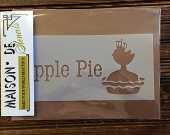 Apple Pie Stencil