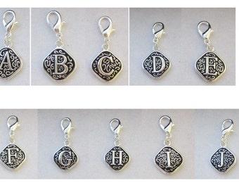 You Choose - Letter A to Z Vintage Dangle  Necklace - Bracelets - Key Chains