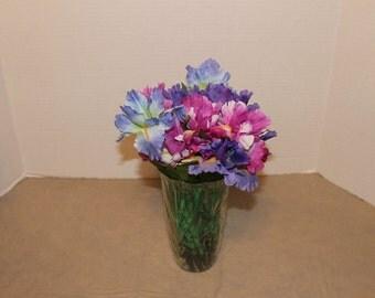 Bouquet of 5 Iris Duct Tape Flower Pens