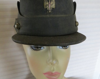 Vintage WWII Spanish Military Cap