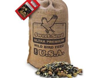 "Sweet-Seed Premium Wild Bird Feed: ""Cardinal Rule"" Ultra Premium Cardinal Blend (5lb)"