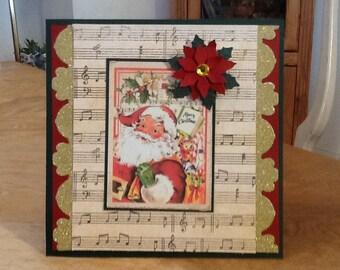 Santa Christmas Card XM23