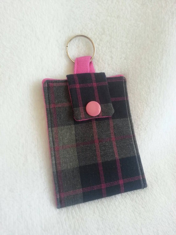 Keychain wallet credit card keeper business card holder by for Keychain business cards