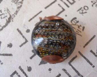 Handmade Focal Glass Lampwork Bead