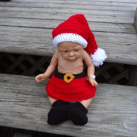 Items similar to newborn baby crochet girl photo prop
