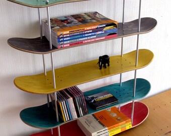 etag re en planche de skate recycl e par skatemood sur etsy. Black Bedroom Furniture Sets. Home Design Ideas