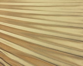 """1"""" Pleated Charmeuse Panel color Gold"""