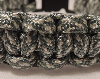 Cobra Braid ACU Digital Camo 550 Paracord Bracelet, Survival Bracelet