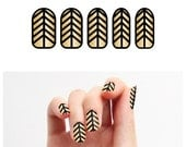 Baroque is the New Black - Nail Wraps (Set of 22)